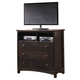 Harmony Media Chest in Dark Brown