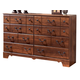 Timberline Dresser in Cherry B258-31