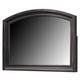 Ridgley Mirror in Dark Brown CLEARANCE