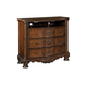 North Shore Media Chest in Dark Wood CLEARANCE