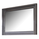 Key Town Mirror in Dark Brown