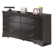Huey Vineyard Dresser in Black
