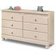 Cottage Retreat Dresser in Cream
