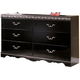 Constellations Dresser in Black