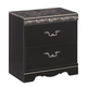 Constellations Nightstand in Black