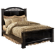Constellations Queen Poster Bed in Black
