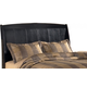 Harmony King Sleigh Headboard in Dark Brown