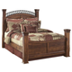 Timberline King Poster Bed in Cherry CLEARANCE