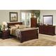 Coaster Versailles Sleigh Bedroom Set in Mahogany 201481