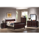 Coaster Louis Philippe Bedroom Set in Cappuccino 203981