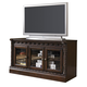 North Shore Medium TV Stand in Dark Brown W553-31