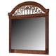 Fairbrooks Estate Mirror in Cherry CLEARANCE
