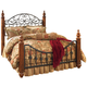 Wyatt Queen Poster Bed in Cherry CLEARANCE