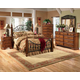 Wyatt Poster Bedroom Set in Cherry