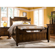 Broyhill Attic Heirlooms 4-Piece Feather Bedroom Set in Natural Oak Stain
