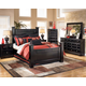 Shay Poster Bedroom Set in Black