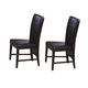 Coaster Parson Chair in Dark Brown (Set of 2) 100972