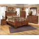 Timberline 4-Piece Poster Bedroom Set in Cherry