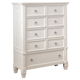 Prentice Chest in White