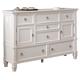 Prentice Dresser in White