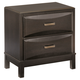 Kira Nightstand in Black