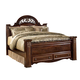 Gabriela King Poster Bed w/ Storage Footboard
