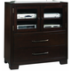 Pulaski Tangerine 330 Sable Media Chest