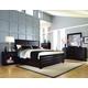 Pulaski Tangerine 330 Sable Storage on Both Sides Panel Bedroom Set