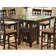 Coaster Rich Cappuccino Counter Height Table