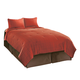 Interlude - Brick Queen Top of Bed Set