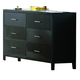 Coaster Grove Dresser in Black