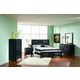 Coaster Grove Panel Bedroom Set in Black 201651