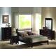 Coaster Kendra Platform Bedroom Set in Mahogany 201291
