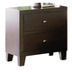 Coaster Lorretta Nightstand in Deep Brown