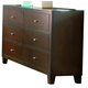 Coaster Lorretta Dresser in Deep Brown