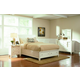Coaster Sandy Beach Platform Storage Bedroom Set in White 201309
