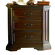 Coaster Foxhill Nightstand in Dark Brown