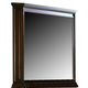 Coaster Foxhill Mirror in Dark Brown