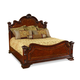 A.R.T. Old World Queen Estate Bed in Warm Pomegranate