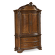 A.R.T. Old World Armoire Complete in Warm Pomegranate 143160-2606