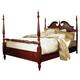American Drew Cherry Grove Queen Low Poster Bed