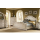 A.R.T. Provenance Panel Bedroom Set in Distressed Ivory