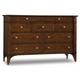 Hooker Furniture Abbott Place Nine Drawer Dresser in Warm Cherry 637-90-002 SALE Ends Sep 20