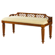 Tommy Bahama Island Estate Plantain Bed Bench in Custom Fabric SALE Ends Apr 19