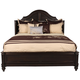Paula Deen Steel Magnolia King Platform Bed Tobacco