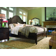 Paula Deen Home Steel Magnolia Platform Bedroom Set in Tobacco