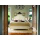 Paula Deen Home Steel Magnolia Platform Bedroom Set in Linen
