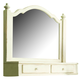 Paula Deen Home The Lady's Storage Mirror in Linen