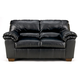 Commando Loveseat in Black 6450035