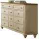Liberty Furniture Ocean Isle 11 Drawer Dresser 303-BR31